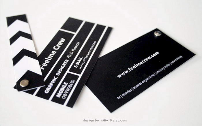 Clapper Board Business Card