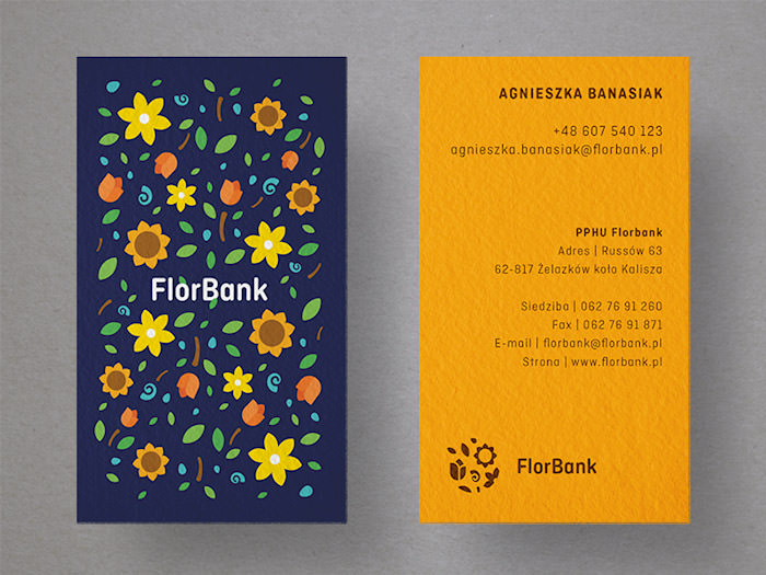 Florbank - Business cards