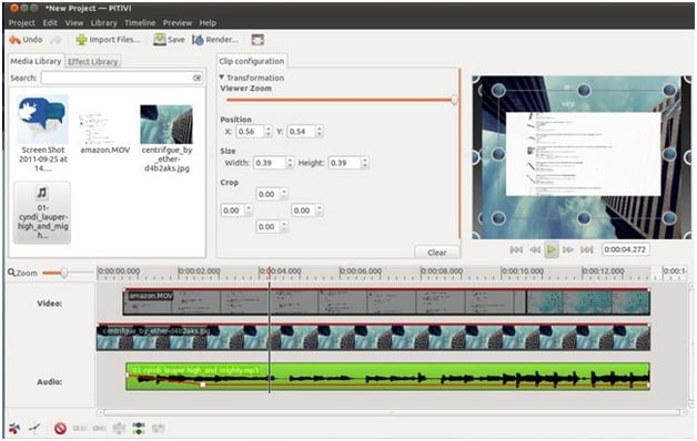 linux video editor